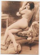 """PIN  UP  /  NUE  /   """"  SIMONE  """"     EDITION  FOTOGRAFIC COLLECTION    CPM / CPSM   17 X 12    NEUVE - Pin-Ups"""