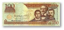DOMINICAN REP. - 100 PESOS ORO - 2006 - Pick 177.a - Serie MR - Dominicana