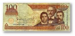 DOMINICAN REP. - 100 PESOS ORO - 2006 - Pick 177.a - Serie SX - Dominicana