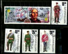 Bulgarie Scott N°  3688.3689.3924.3925.3926.3927..oblitérés