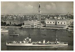 (ORL 758) Italy - Venice And Warship Nicolo Zeno ? - Warships