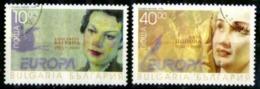 Bulgarie Scott N°  3929.3930...oblitérés   Europa