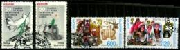 Bulgarie Scott N°  3859.3860.4027.4028..oblitérés   Europa