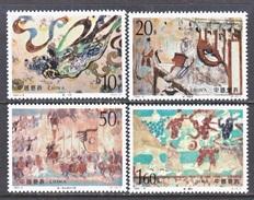 PRC  2505-8    **   ANCIENT  MURALS - 1949 - ... People's Republic