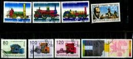 Bulgarie Scott N°  3955.3956.3957.4001.4002.4003.4006.4009a..oblitérés