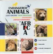 Gambia 2013 Endangered Animals II Tiere - Gambie (1965-...)