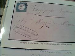 Robson Lowe Limited |ITALIA | Abbonamenti Ai Catalogh  STATO Sardegna  5 CENT  N1995  FX10897 - Italien