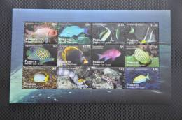 M1 49 ++  2012 PENRHYN MARINE LIFE FISH FISCH VIS POISSON BARRACUDA ++ VERY HIGH FACE VALUE  ++ MNH POSTFRIS ** - Penrhyn