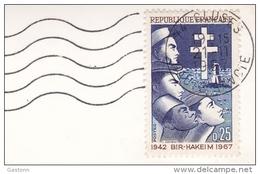 Bir Hakeim N° 1532 0.25 -  19.11.1967 Cluses Haute Savoie 74 - Sur Cp Souvenir Du Reposoir - 1961-....