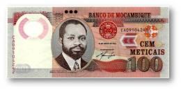 MOZAMBIQUE - 100 METICAIS - 16.06.2011 - P 151 -  Série CA - Polymer Plastic - Samora Moisés Machel - Mozambique