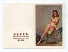 Calendrier 1958   Reims  Peber   A    VOIR  !!! - Calendriers