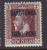 Cook Islands 1919 SG 59 P.14x15 Mint Never Hinged - Cook Islands