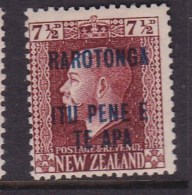 Cook Islands 1919 SG 51a P14x14.5 Mint Hinged - Cook