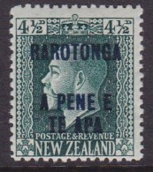 Cook Islands 1919 SG 51a P14x14.5 Mint Never Hinged - Cook