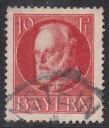 BAVARIA     SCOTT NO. 98      USED       YEAR  1914 - Bavaria