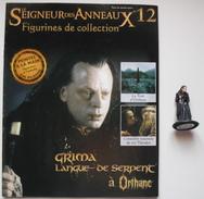 Figurine Le Seigneur Des Anneaux N°12 / Grima Langue De Serpent à Orthanc - Lord Of The Rings