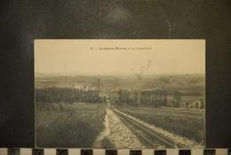 Cp, 52, LANGRES, Langres-la Cremaillere--train - Langres