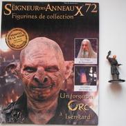 Figurine Le Seigneur Des Anneaux N°72 / Un Forgeron Orc à Isengard - Lord Of The Rings