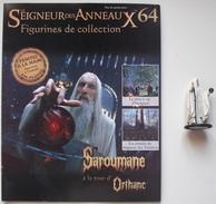 Figurine Le Seigneur Des Anneaux N°64 / Saroumane à La Tour D'orthanc - Lord Of The Rings