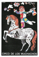 Cirque - CIRCO DE LOS MUCHACHOS - N° 5 Affiche Espagnole 1975 - Cirque
