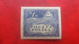 POLAND 1919 MH NORTH POLAND FISCHER 92A RENAISSANCE GRANARY IN KAZIMIERZ DOLNY IMP - 1919-1939 Republic