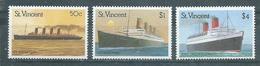 SAINT-VINCENT  Yvert  N° 1123 à 1125 **  PAQUEBOTS - St.Vincent (1979-...)