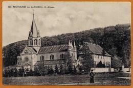 68 / ST. MORAND Bei ALTKIRCH (+ 1 Personne) Prieuré Saint Morand - Altkirch