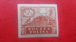 POLAND 1919 MH NORTH POLAND FISCHER 95A WORKING FARMER IMP - 1919-1939 Republic