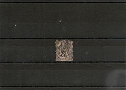 NOUVELLE CALÉDONIE  Année 1892 N° Y/T : 29 Oblitéré Côte: 30 € - Gebraucht