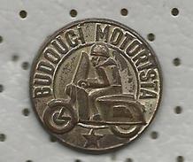 Budouci Motorista ( Czechoslovakia ) - Future Motorist.OLD PIN - Motorbikes