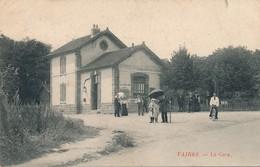 G21 - 77 - VAIRES - Seine Et Marne - La Gare - Vaires Sur Marne