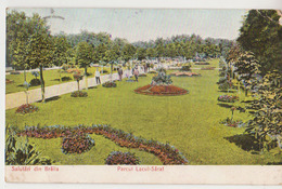 Cpa  Braila  1908   Parc - Romania