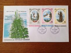 FDC 1969 Saut Du Gaul Sur L'Ile Pentecôte Zone Française - FDC