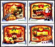 SWITZERLAND 2014, CHRISTMAS, COMPLETE, MNH SET, GOOD QUALITY,*** - Switzerland