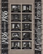 France.bloc No 9.cinquantenaire De La Cinematheque.1986.n**. - Blocs & Feuillets