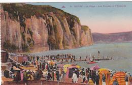 76 - DIEPPE - La Plage Les Falaises Et L'Estacade - Dieppe