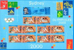 France.bloc No 31a.jeux Olympiques Sydney.2000.n**. - Ongebruikt