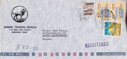 IRAK > Aangetekende Brief Van BAGDAD  Naar LICHTERVELDE - Iraq