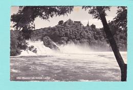 Old/Antique? Postcard Of Rheinfall Mit Schloss Laufen, Zurich, Switzerland.,Posted With A Stamp,Q41.