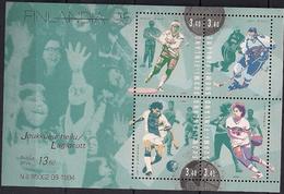1995 Finnland Mi. Bl. 15 **MNH Spitzensportler Aus Beliebten Mannschaftssportarten