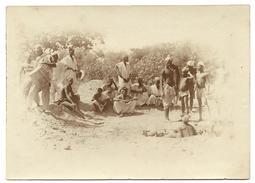 """NIGER -  """"Des Noirs Creusent Un Puits à Dosso"""", Photo Originale - Africa"""