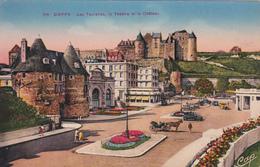 76 - DIEPPE - Les Tourelles, Le Théâtre Et Le Château - Dieppe