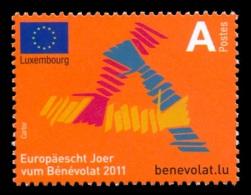 Luxembourg 2011 Mih. 1903 European Year Of Volunteering MNH **