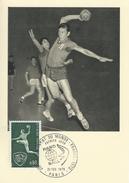 Handball.  Championat Du Monde 1970.   France..  # 05454 - Handball