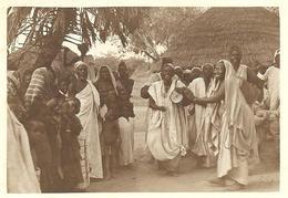 """NIGER -  """"Chez Les Djermas, La Sorcière Au Tam-Tam"""", Photo Originale - Africa"""