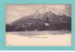 Old/Antique? Postcard Of Spiez Am Thunersee Und Niesen,Bernese Oberland  Switzerland,Q42. - Otros