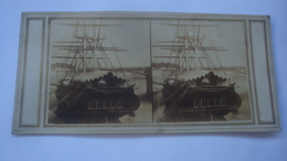 BATEAU FREGATE ECOLE - Cartoline Stereoscopiche