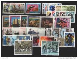 ITALIA REPUBBLICA - 1977 - Annata Completa Usata - 38 Valori - Complete Year - Usati - Used - Prima Scelta - Annate Complete