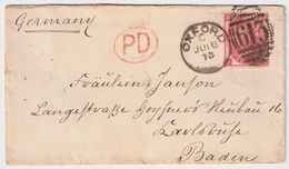 1873, Brief, 3 P.  , #7146 - Briefe U. Dokumente