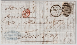Nr. 39, Brief Nach Italien, #7148 - Briefe U. Dokumente
